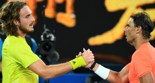 VİDEO: Stefanos Tsitsipas - Rafael Nadal / Aus Open 2021