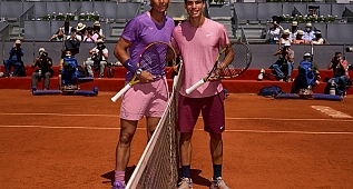VİDEO: Rafael Nadal & Carlos Alcaraz - Madrid 2021